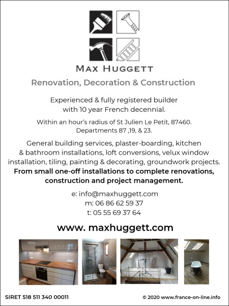 Max Huggett - Renovation and Construction