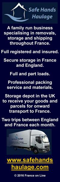 Safe Hands Haulage,professional,fully insured transport company,transportation,full loads,part loads,house moves,Europe,France,Dordogne,UK,household,building materials,tools,vehicles